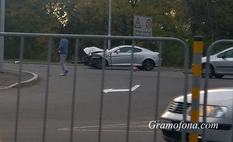 Катастрофа в Бургас, млад шофьор е в шок