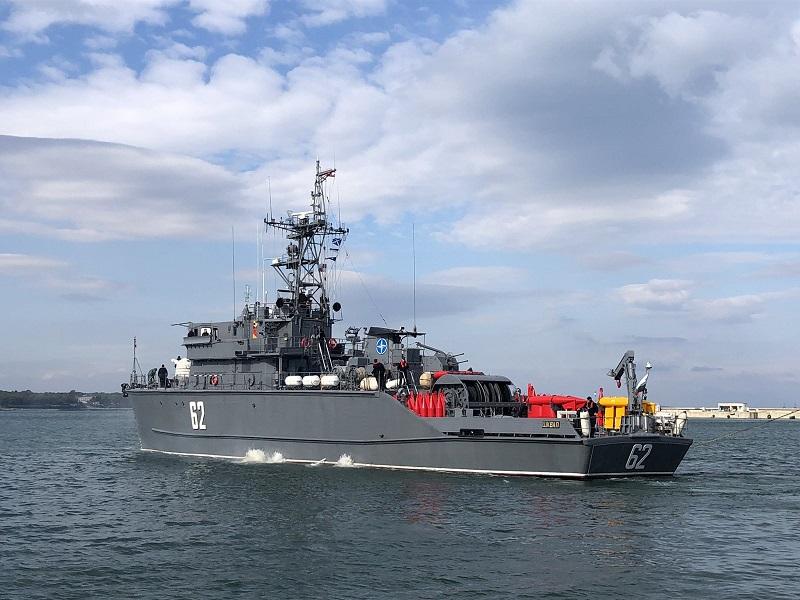 Миночистач от Бургас отплава за мисия на НАТО