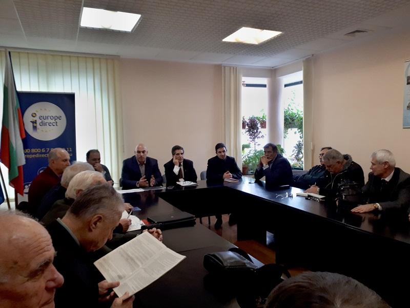 БСП – Бургас представи визията си за икономическото развитие на общината местния бизнес