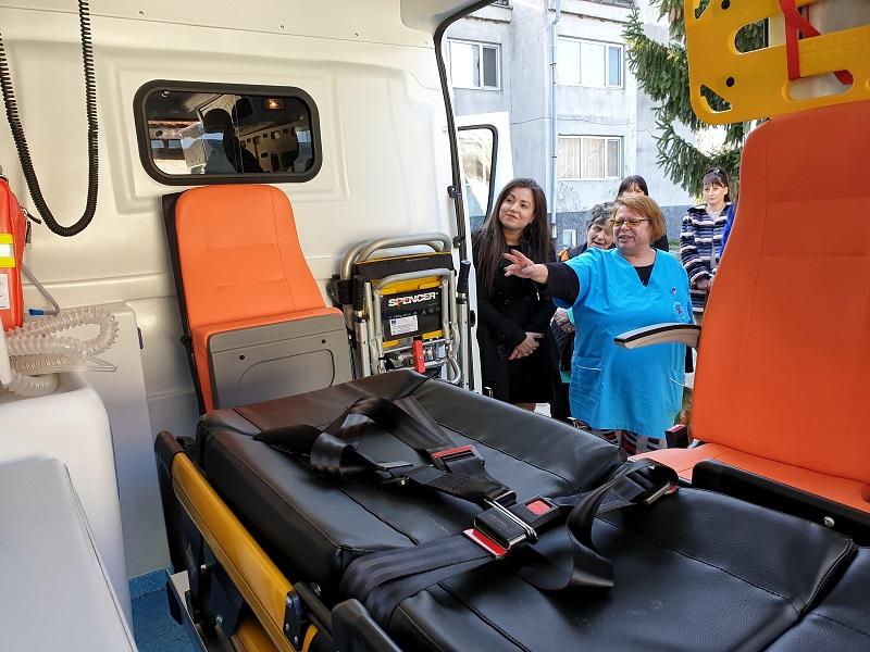 Община Сунгурларе има нова линейка за спешни случаи