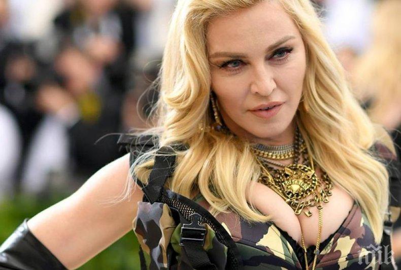 Не пуснаха Мадона на репетиция за Евровизия