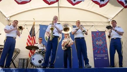 Оркестър от Въоръжените сили на САЩ ще свири на остров Света Анастасия