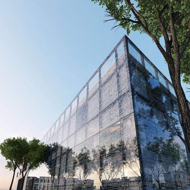 Заедно избираме думи за дизайна на фасадата на новата библиотека