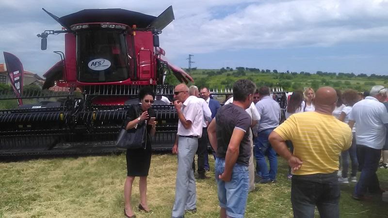 Над 100 бургаски земеделци си пожелаха добри добиви