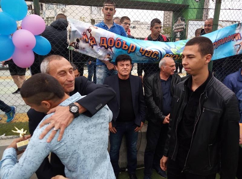 Спортното училище в Бургас изпрати своя випуск 2019
