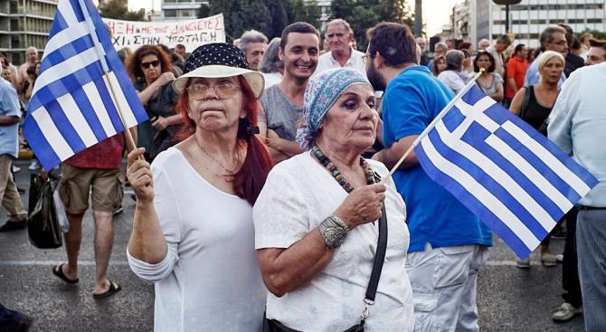 Протести в Атина срещу ракетната атака срещу Сирия