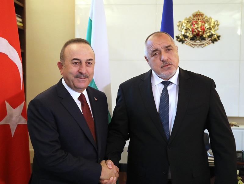 Премиерът Бойко Борисов се срещна с турския външен министър Мевлют Чавушоглу