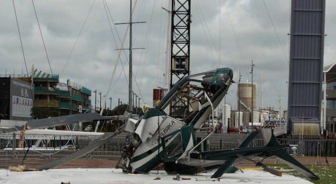 Петима загинаха на борда на хеликоптер