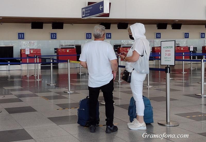 Аерофлот пуска самолети от Санкт Петербург до Бургас