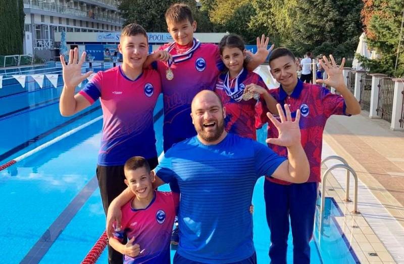 """4 златни и 3 сребърни медала спечелиха състезателите на КВС """"Бургас"""""""