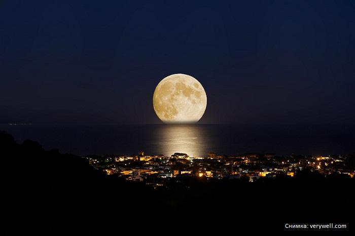 Луната днес – супер