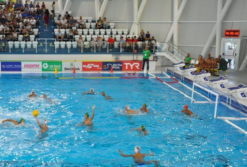 Европейско по водна топка започна в Бургас