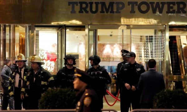Евакуираха небостъргача на Тръмп