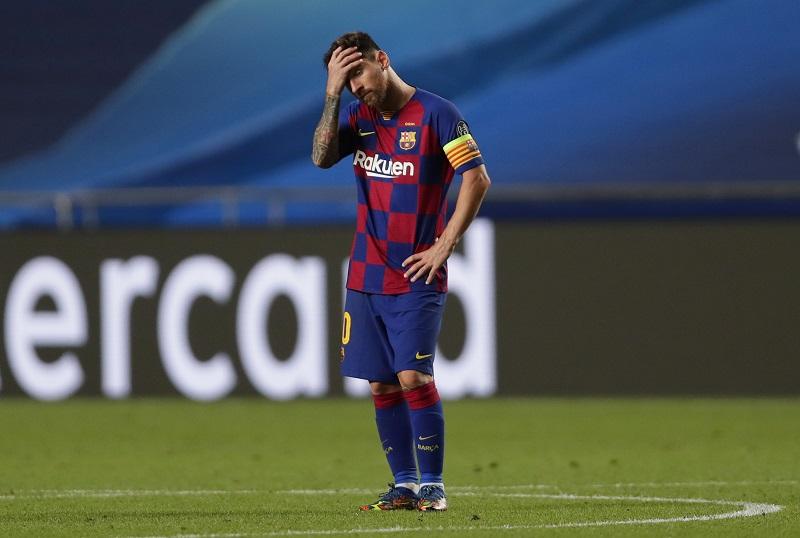 Лео Меси напуска Барселона