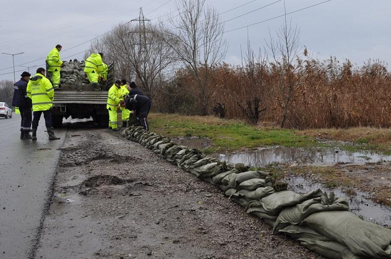 54 литра дъжд на квадратен метър за денонощие в Бургас