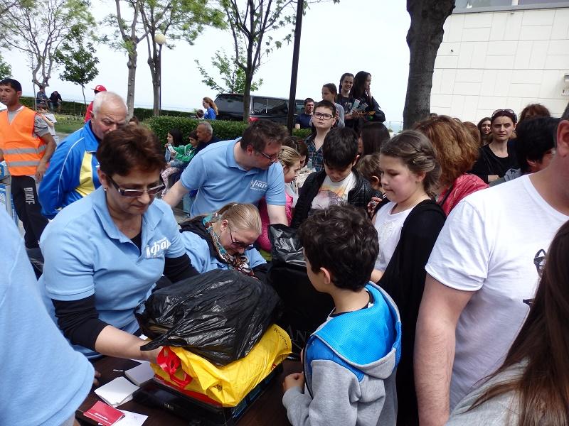 3 тона хартия събраха бургаски деца