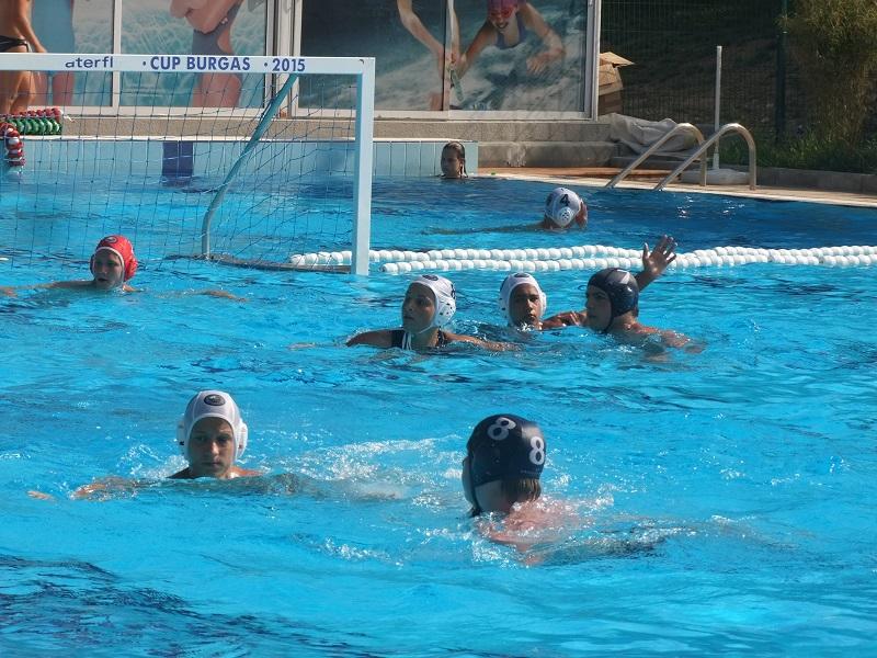 Ватерполистите от Черноморец стартират в държавното първенство