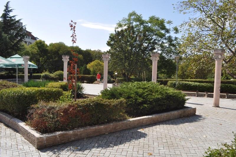 Цялостно видеонаблюдение в Борисовата градина в Бургас
