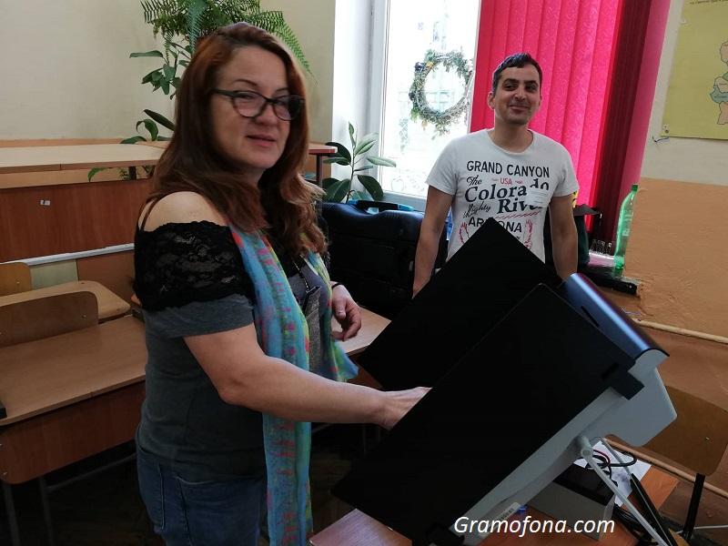Бургазлии искат да гласуват машинно
