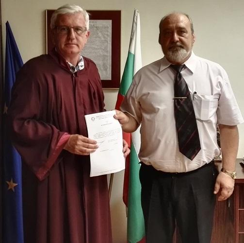 Нов прокурор в Бургас