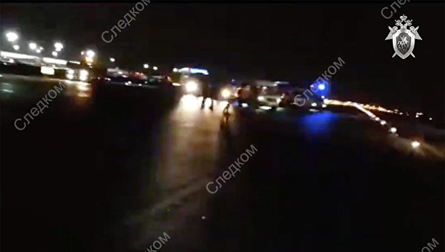 Самолет уби човек на летище Шереметиево