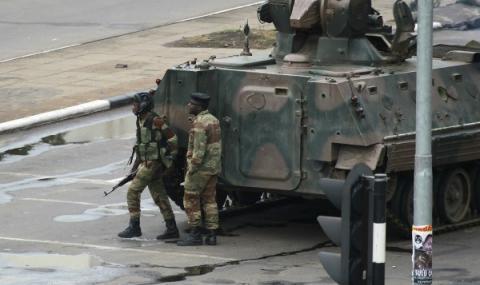 Военен преврат в Зимбабве