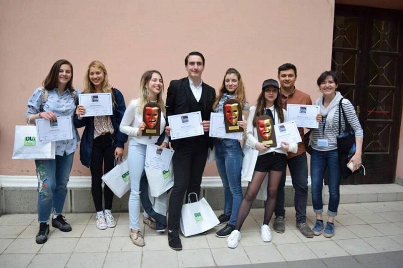 Бургаските таланти от Френската гимназия обраха най-престижните награди на театрален франкофонски фестивал