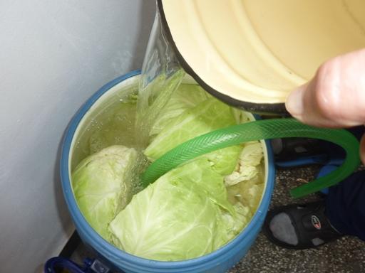Яжте туршии и кисело зеле в студеното време