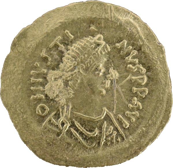 Златна монета на император Юстин І откриха в Ахтопол