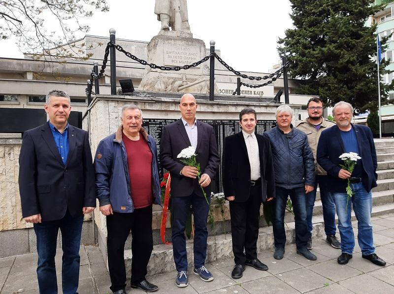 БСП – Бургас почете Деня на храбростта и празника на Българската армия