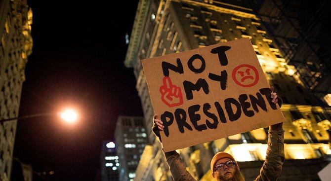 Трети ден протести срещу Тръмп