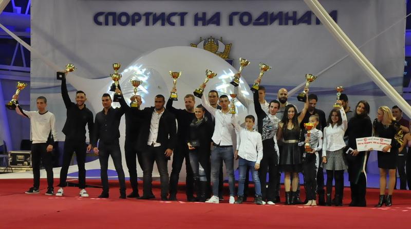 Рекорден брой спортисти спорят за най-добри на Бургас за годината
