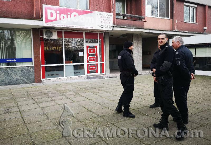 Полиция в офисите на бургаски интернет доставчик