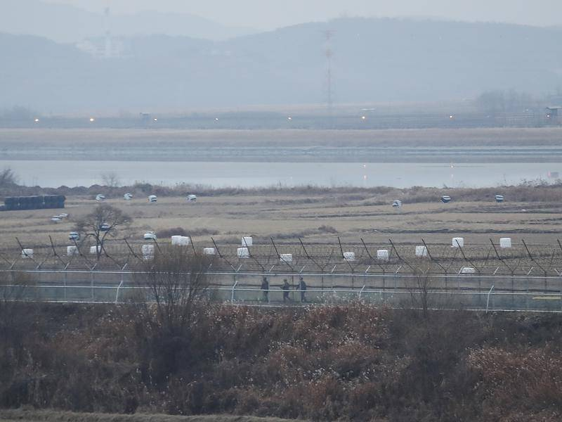 Престрелка на границата между Южна и Северна Корея