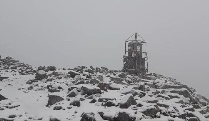Юлски сняг и минусови температури на Мусала