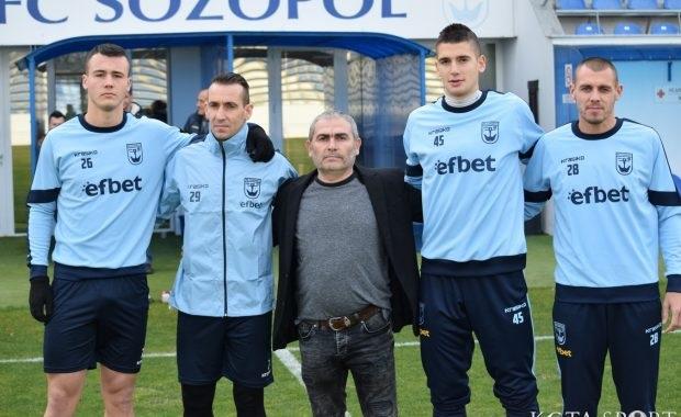 Французин, ветеран и още 4-има нови в Созопол