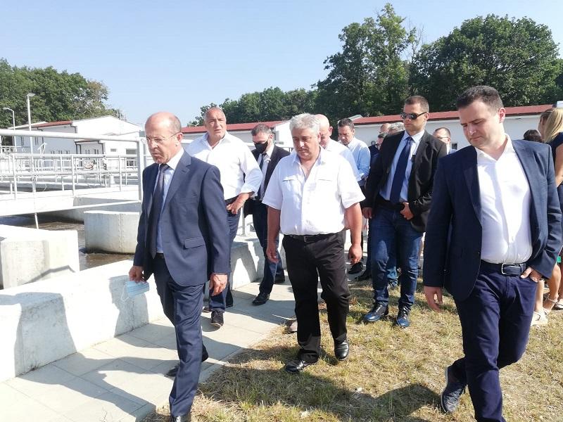 Борисов откри разширената пречиствателна станция в Китен