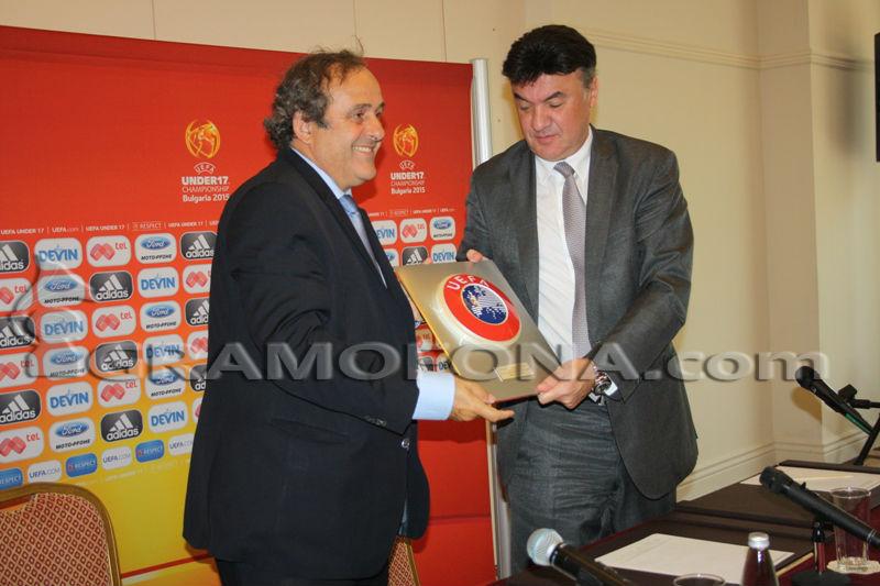 Борислав Михайлов аут от УЕФА