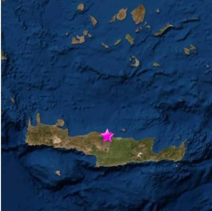 От първо лице: Силен трус разбуди бургазлии на остров Крит
