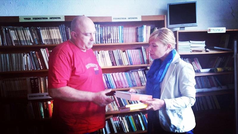 Бургаските депутати на ГЕРБ с нова кампания: Големи автори за малките библиотеки