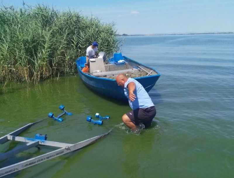 Освободиха 20 кила шаран в езерото Вая