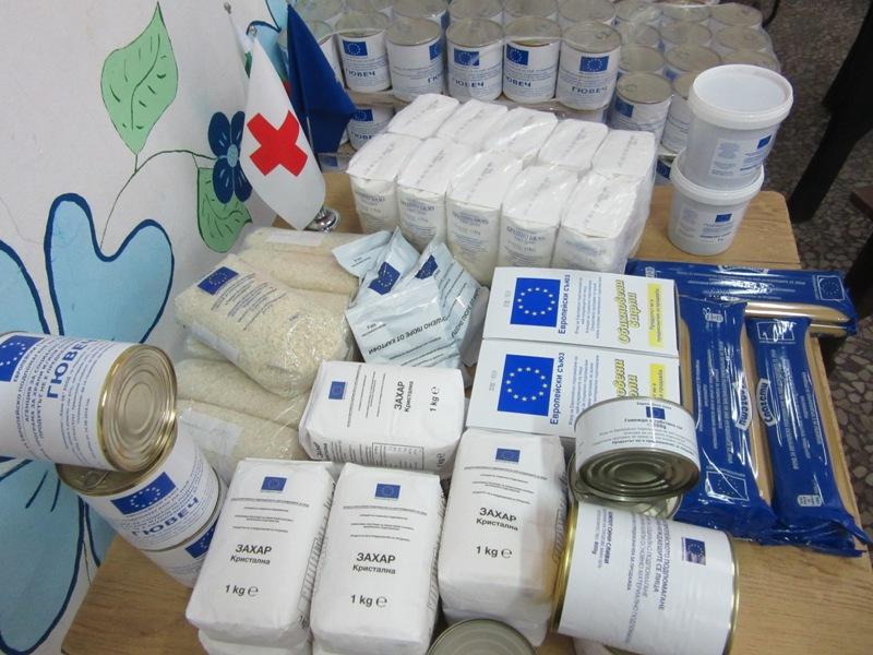 БЧК-Бургас започва раздаването на продуктите от хранителната програма на ЕС