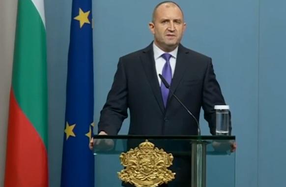 Румен Радев: Президентът, а не премиерът свиква Велико народно събрание