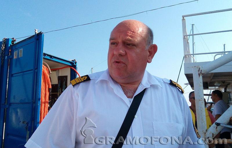 Освободиха кап. Живко Петров като шеф на Морска администрация