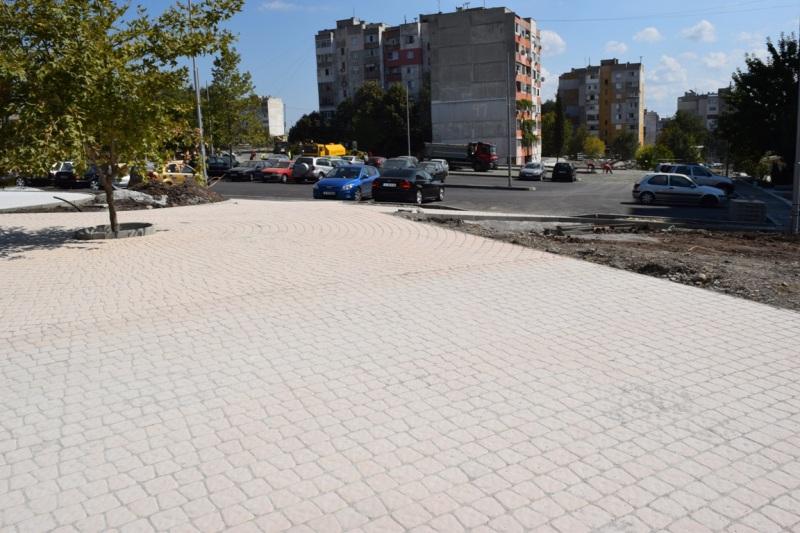 Благоустрояването на Меден Рудник продължава с реконструкция на две големи междублокови пространства