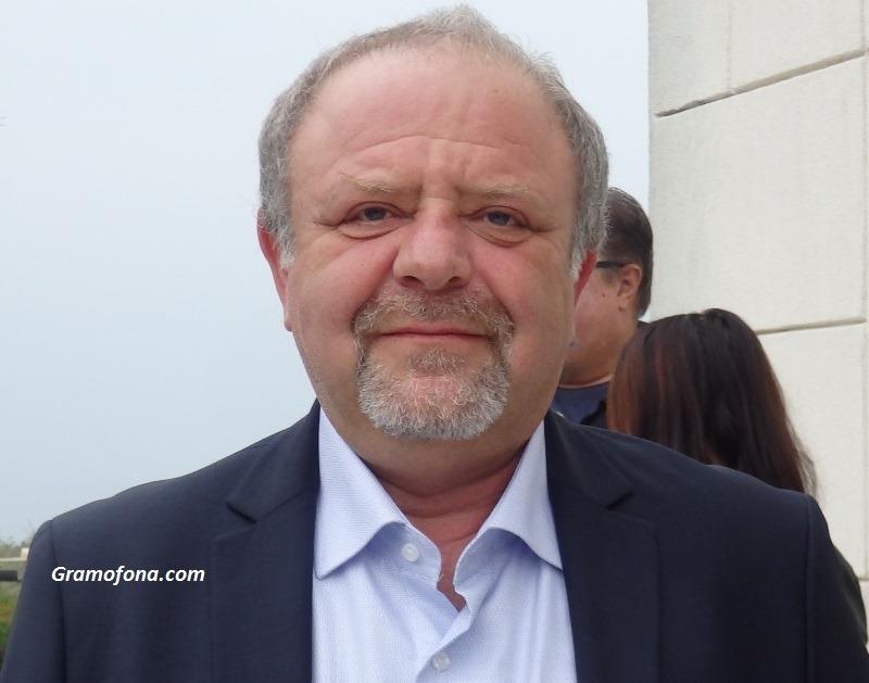 Христо Порточанов пръв поздрави бургаския политик Йордан Георгиев за имения му ден