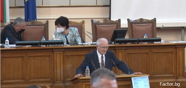 Депутатите на ДПС напуснаха пленарната зала заради Валери Симеонов