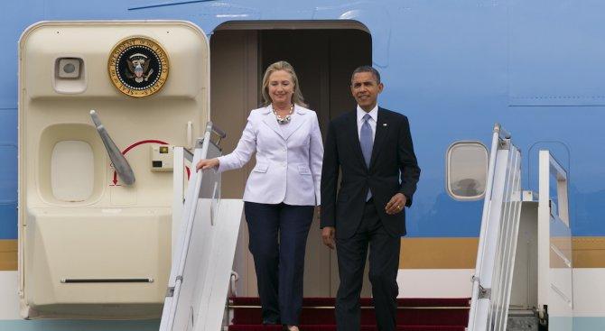 Обама подкрепи Хилъри Клинтън за кандидат-президент