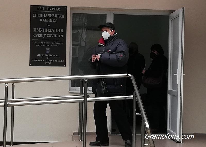 22 имунизационни кабинети за ваксинация обхванаха цялата Бургаска област
