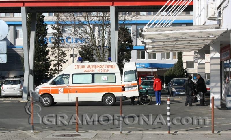Трима ранени при тежка катастрофа край Тънково